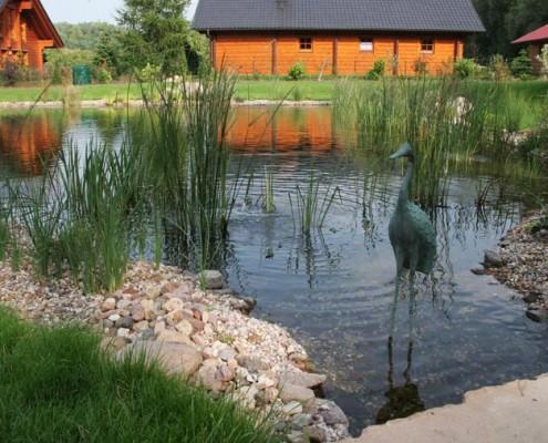 naturnahe Teichgestaltung