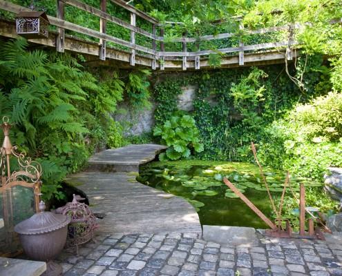 Gartenplanung und Gartenbau nach Feng-Shui