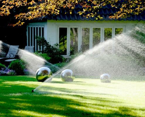 Garten Bewässerungsanlage