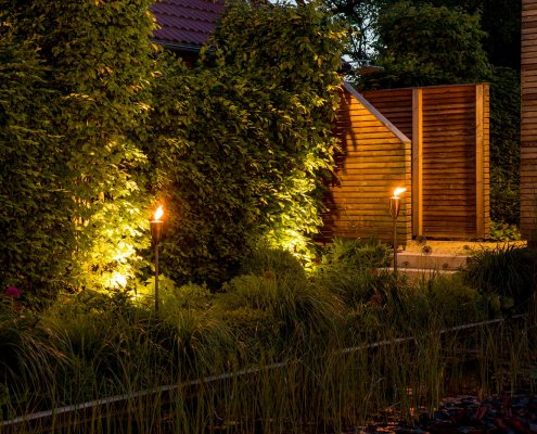 Gartenbeleuchtung Effektbeleuchtung
